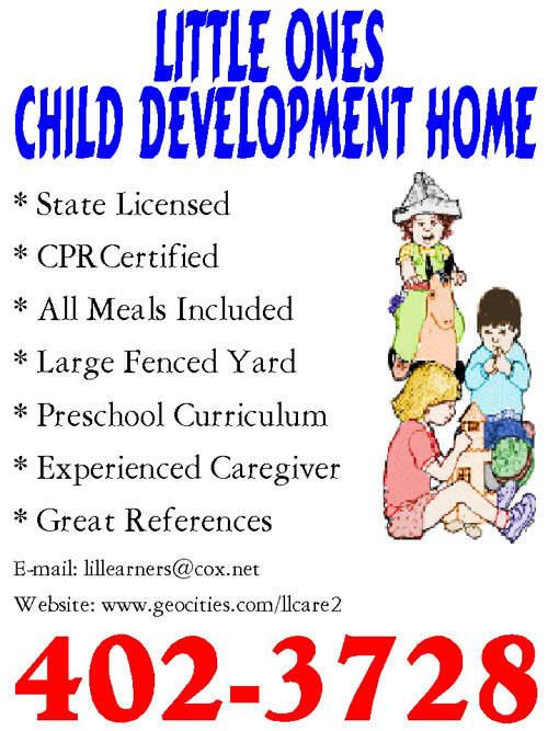 sample advertising flyers advertising childcare - Daycare Advertising Examples